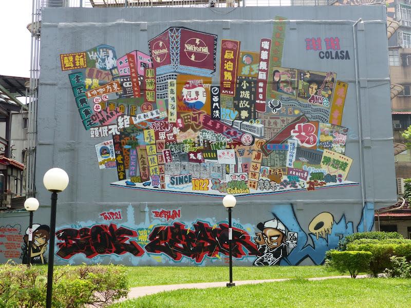 Taipei. Street art à Ximen et Youth park - P1250128.JPG