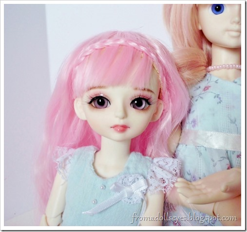 Adjusted this doll's eyes, now she looks cuter. | From a Doll's Eyes