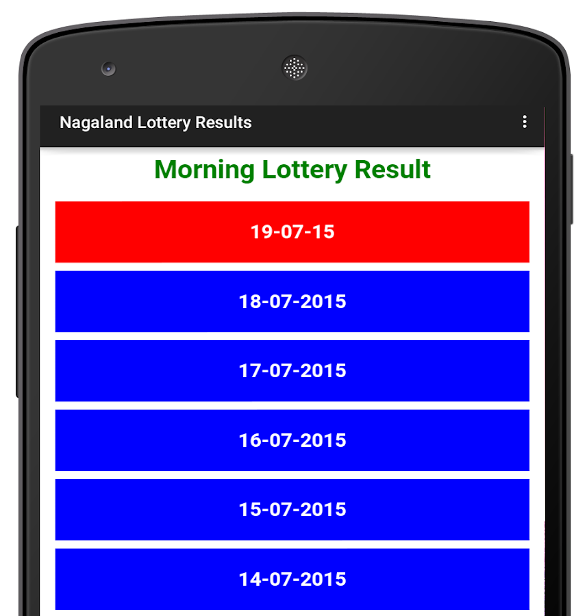 Nagaland Lottery Results Android Apps On Google Play