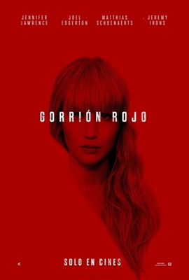 Poster Gorrion rojo