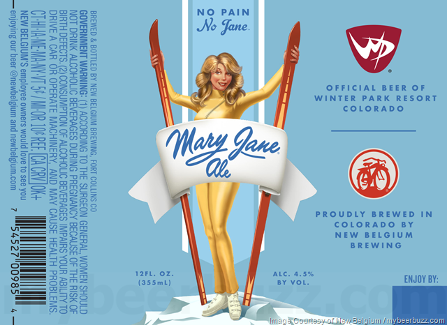 New Belgium - Mary Jane Ale Returns