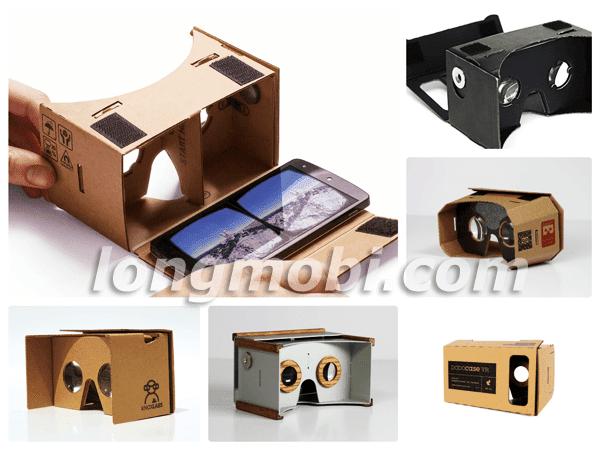 kính 3d cho điện thoại google cardboad
