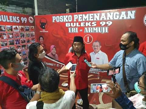 Eri Cahyadi, Resmikan Posko BULEKS 99 Ajang Aspirasi Warga Kampung