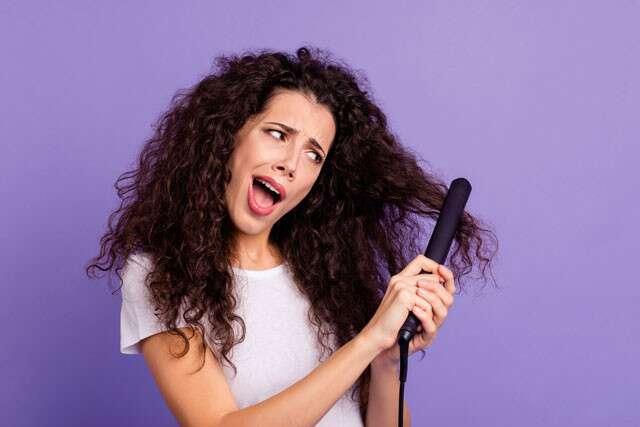 الآثار الجانبية لتنعيم الشعر