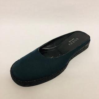 Gucci Espadrille Slides