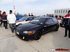 Black Honda Civic hatchback