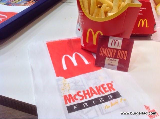 McDonald's McShaker Fries