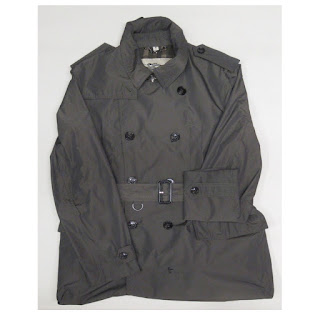 Burberry London Olive Green Jacket