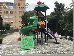 桃園市中壢區元生國小遊戲場設施更新暨地板修繕採購案
