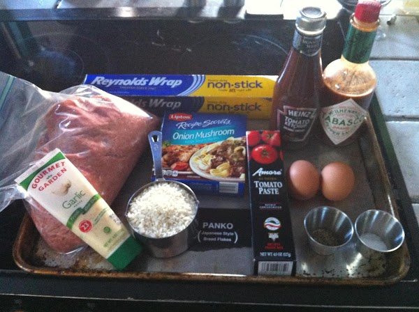 Preheat Oven to 375 degrees.  In the meantime, gather your ingredients.