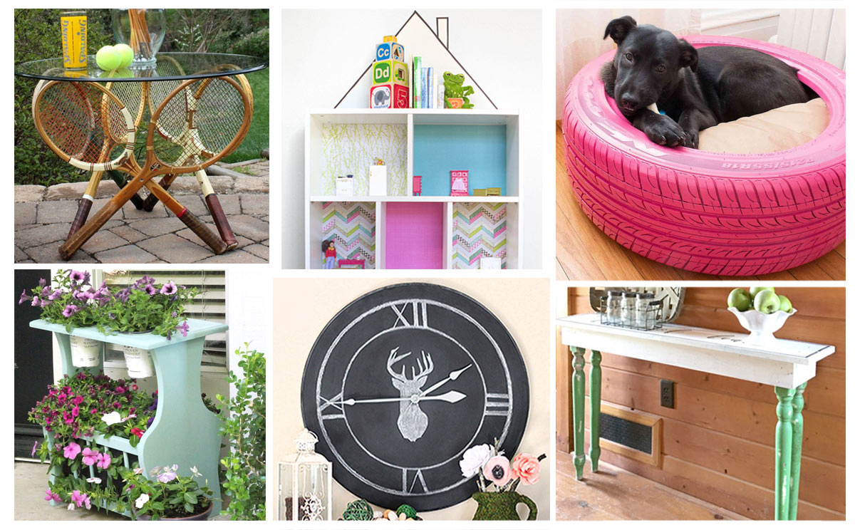 10 beautiful upcycled home decor projects