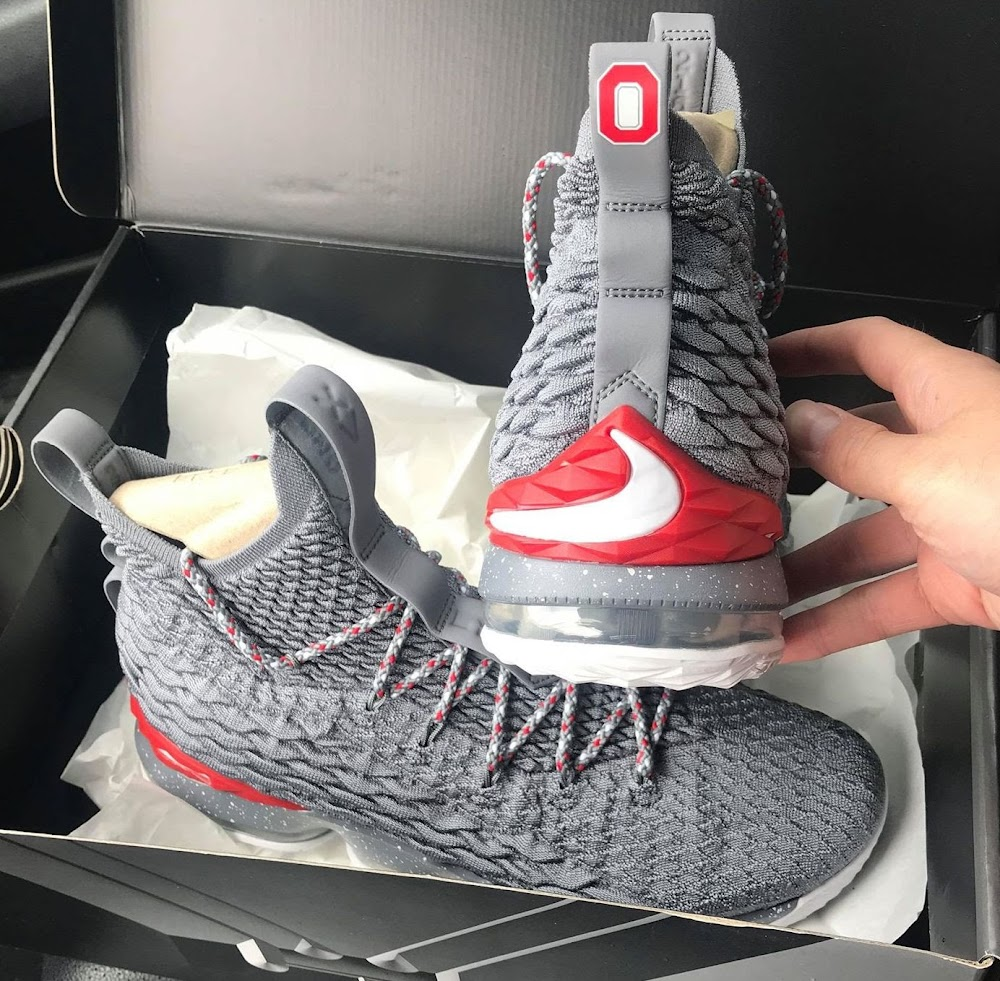 6870d70c4365c ... Theres a Third Version of the Nike LeBron 15 Ohio State PE in Grey