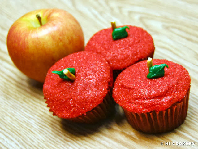 Apple Nut and Spice Cupcakes