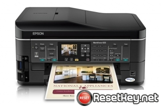 Reset Epson WorkForce 633 printer Waste Ink Pads Counter