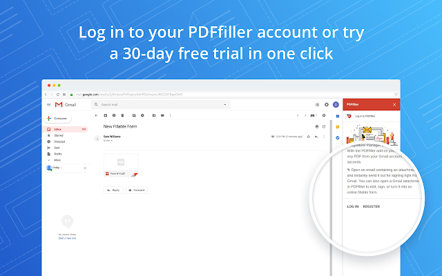 PDFfiller for Gmail - G Suite Marketplace