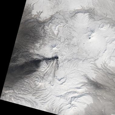 Five Erupting Volcanoes in Russia'sKamchatka Peninsula| Landsat Remote. Cold. Rugged. Those three ...