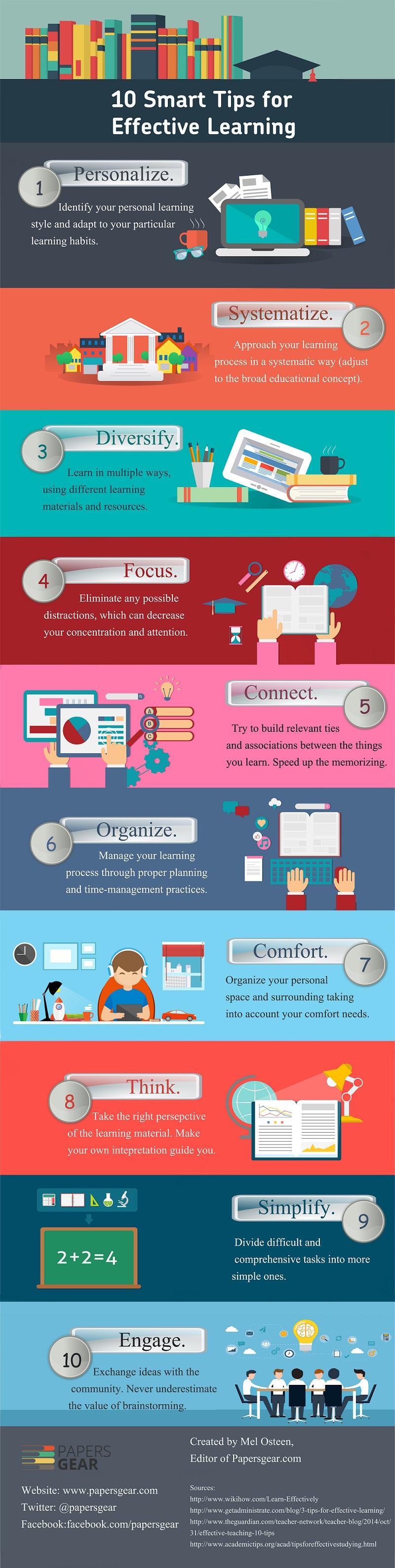 10 útiles consejos para un aprendizaje efectivo