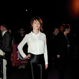 WWW.ENTSIMAGES.COM -  Dakota Blue Richards  arriving  at  Cirque Du Soleil: Kooza VIP Royal Albert Hall London January 8th 2013                                                       Photo Mobis Photos/OIC 0203 174 1069