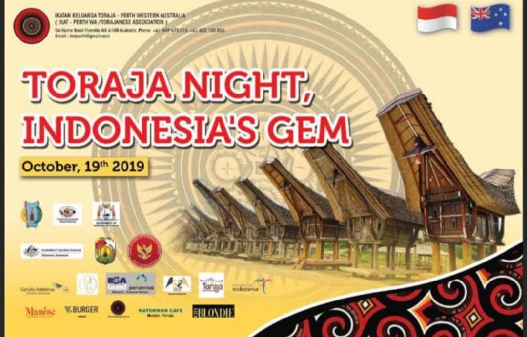 Kerjasama dengan DPRD Tana Toraja, IKAT Perth Akan Promosi Budaya Toraja di Western Australia