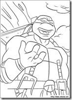 tortugas ninja colorear (2)