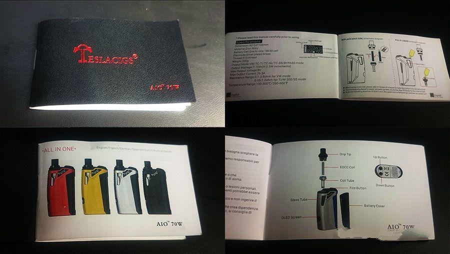 Teslacigs AIO 70W Starter Kit Review 07