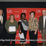 Scholarship Awards Ceremony Fall 2014 - Ned%2BRay%2BPurtle%2BRespiratory.jpg