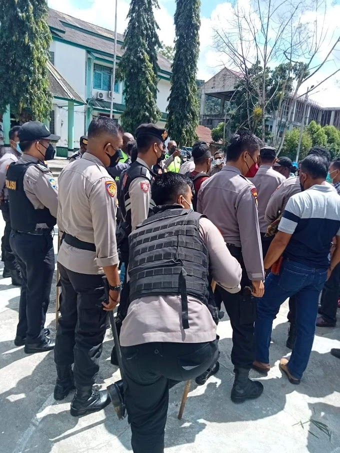 Mahasiswa Papua Gelar Demo Tuntut 2 Oknum TNI AU Adili dan Pecat Secara Tidak Terhormat