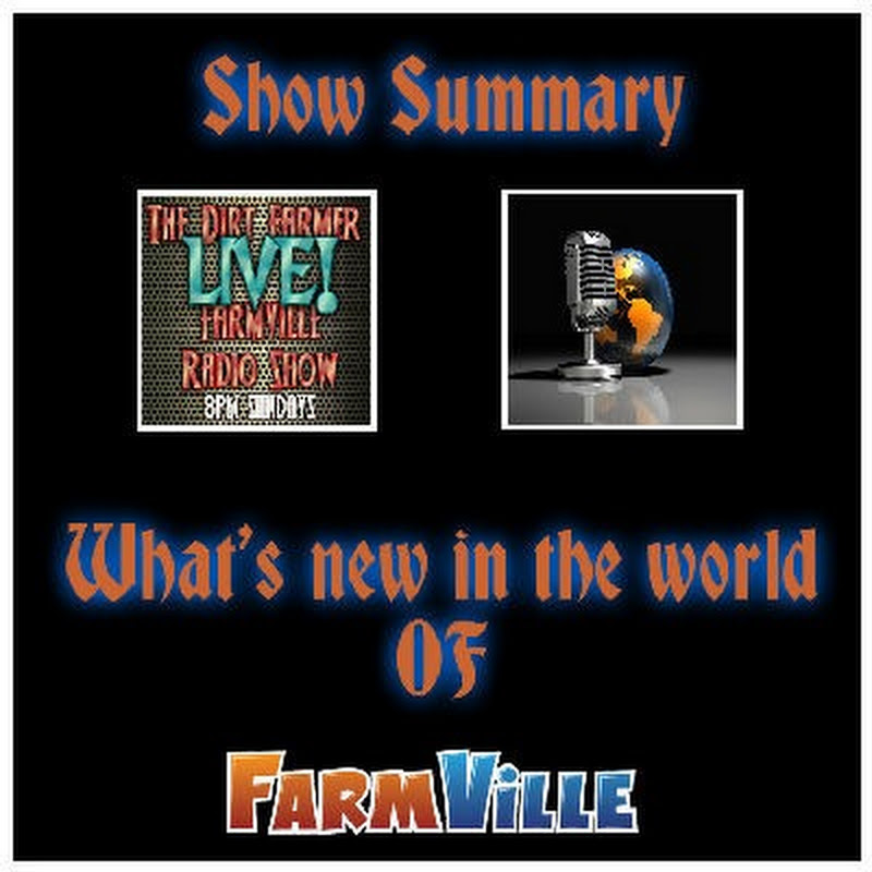 Dirt Farmer LIVE! Show Summary August 21st, 2016