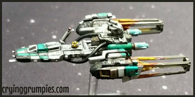 Y-Wing scum pintado por Xela