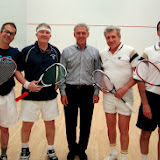 2013 State 50's Doubles: Champions - Greg Zaff & Andrew Slater; Referee - Jon Ross;  Finalists - Tom Poor & Jeff Rodman