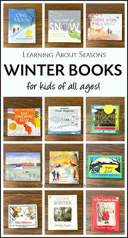Collection of Winter Books for Kids