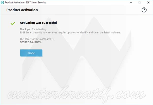 ESET Smart Security Activation