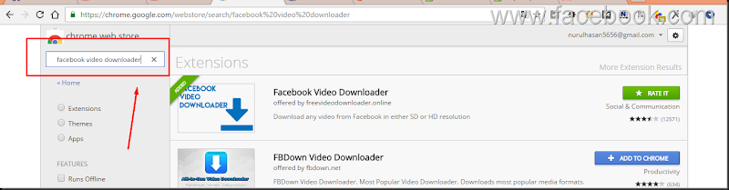 cara download video facebookmudah