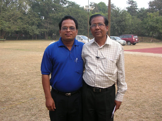 2008 Winter Nationals - Categorized Pairs Runners-up G.C. Pattanaik & S.A.K. Das (P.P.L. Officers Club Parandeep)