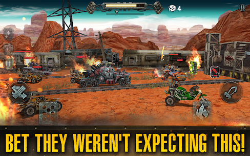 Dead Paradise: The Road Warrior 1.3.0 Mod Apk [Unlimited Coins] 6