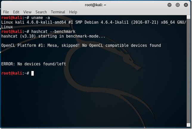 No_OpenCL