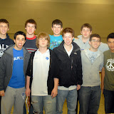 February 2010 HPHS team at state championships