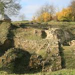 Château d'Orville : vue du chantier depuis le sud