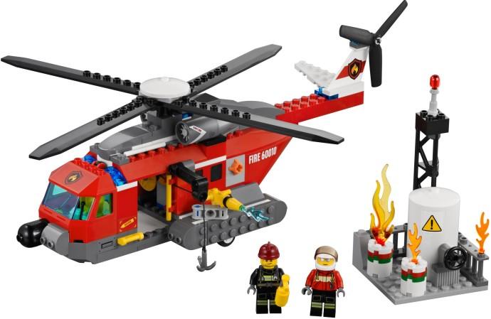 60010 レゴ ファイヤーヘリコプター