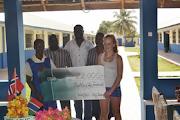 Sigdal ungdomsskole og Butterfly Friends i Gambia