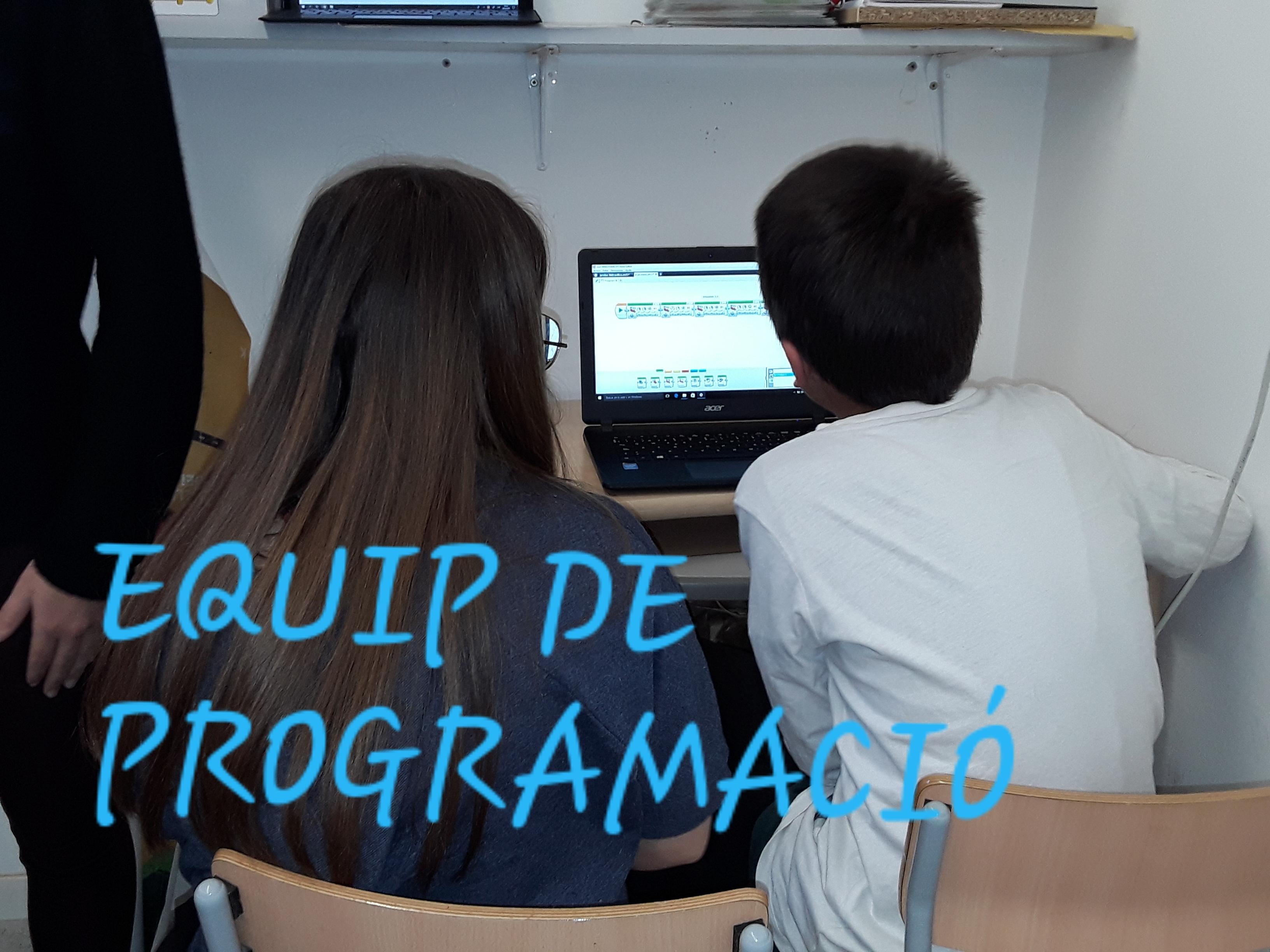 EQUIP DE PROGRAMACIÓ