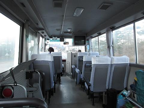 大沼交通「大沼・函館空港シャトルバス」 ・706 車内