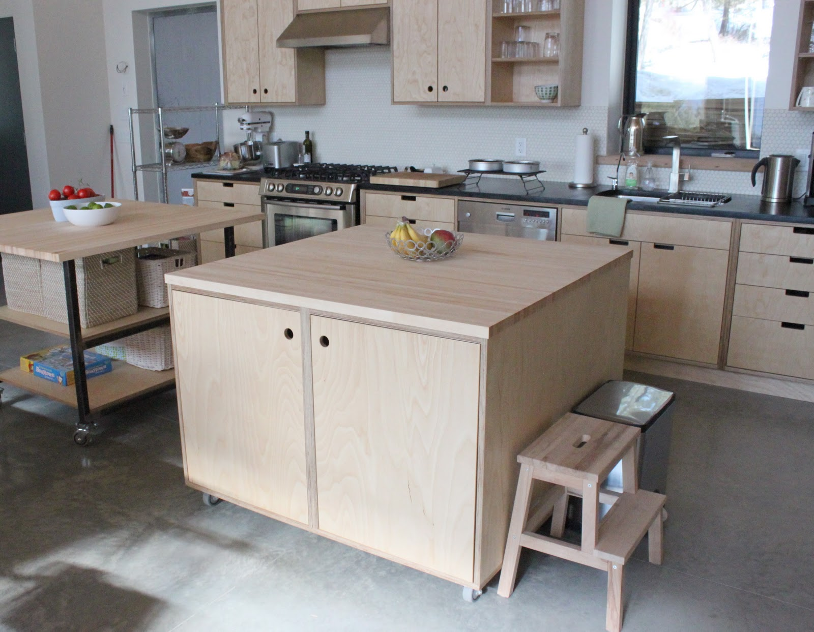 the little forest house Kitchen Cabinets 2