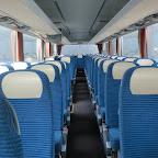 Het interieur van de Setra van Besseling Travel bus 9