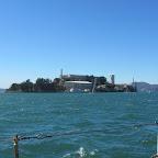San Francisco - Alcatraz (von der Seeseite)