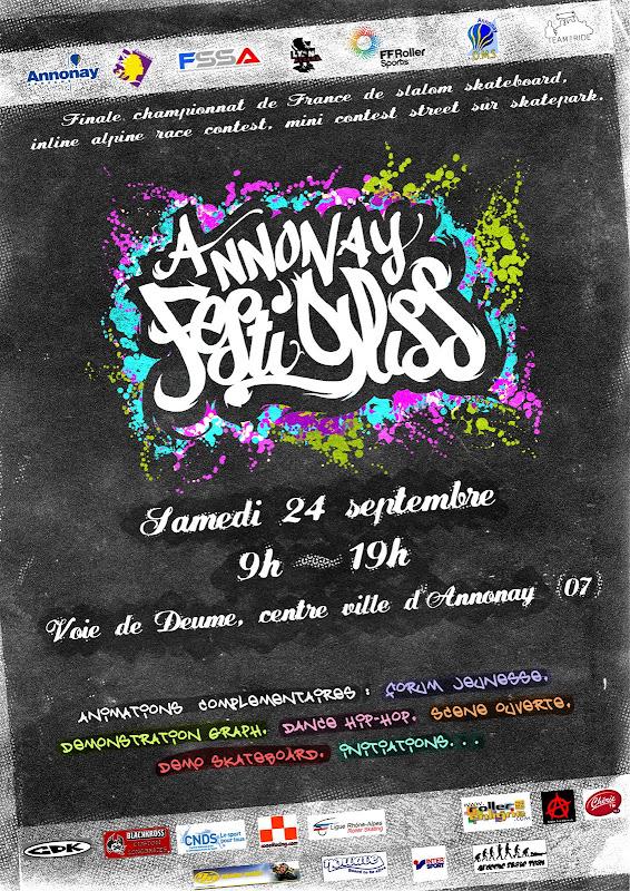 [SLALOM] FINALE ANNONAY 24 SEPTEMBRE AFG-affiche