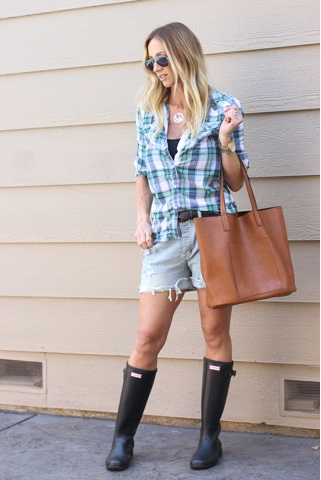 The Parlor Girl: hunter rain boots roundup and review