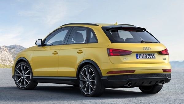 Audi Q3 facelift rear