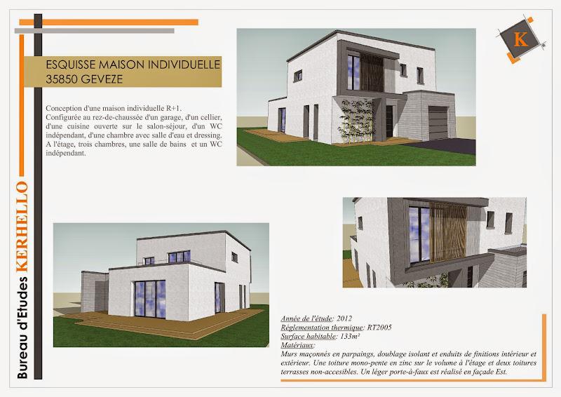 Surface Habitable Maison Amazing Plan Maison Plain Pied Chambres M