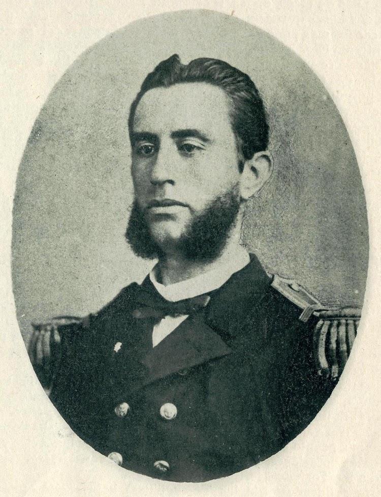 13-D. Antonio Eulate y Fery. Comandante del VIZCAYA. EL MUNDO NAVAL ILUSTRADO. Año 1.898..JPG
